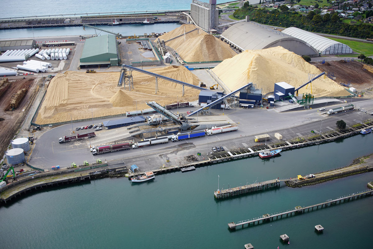 Structural, Civil and Geotechnical Engineering at Portland Chip terminal, Engineering Geelong