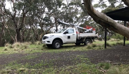 Soil Testing in Geelong and Melbourne, drill rig